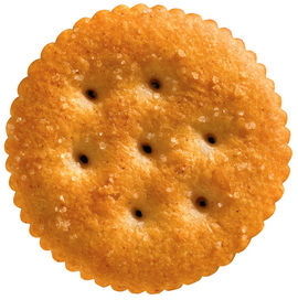 Original Ritz crackers sold in the United States have seven docker holes and 46 scallops around the edge. (MCT)