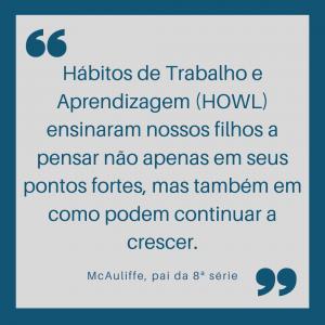 Howls quote Portuguese